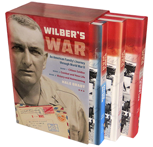 photo of the Wilber's War limited edition boxset